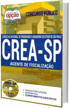 Apostila CREA-SP 2017 Agente de Fiscalização