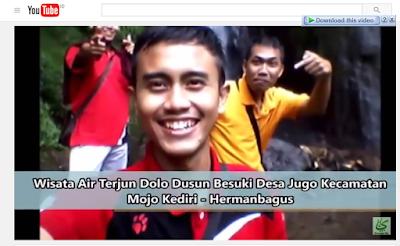 Wisata Air Terjun Dolo Dusun Besuki Desa Jugo Kecamatan Mojo Kediri