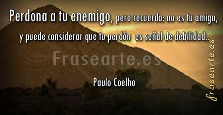 Mensajes de perdón, Paulo Coelho