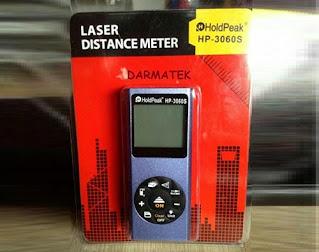 Darmatek Jual HoldPeak HP-3060S laser Distance 60 meter