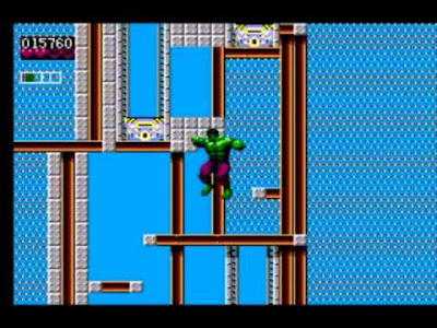 The Incredible Hulk, el Avenger retro de Sega Master System