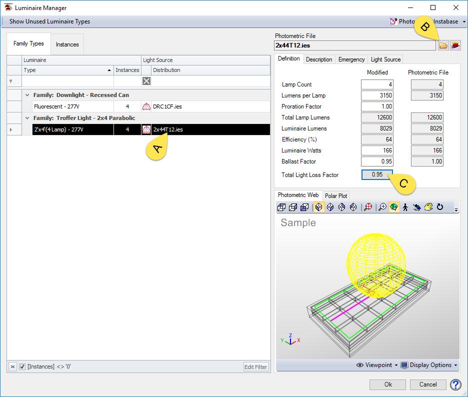 BIM Chapters: Lighting Analysis Module at NDSU