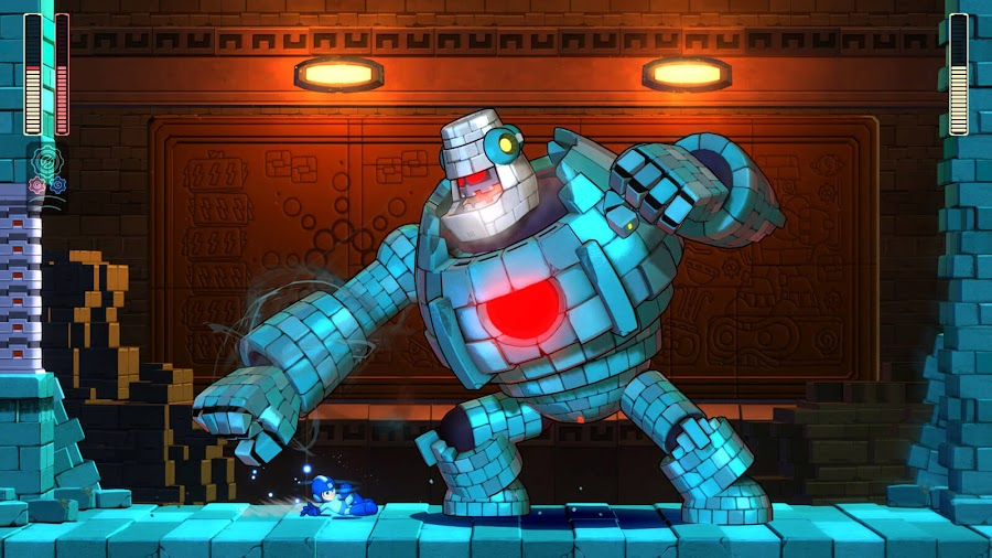 mega man 11 block man ps4