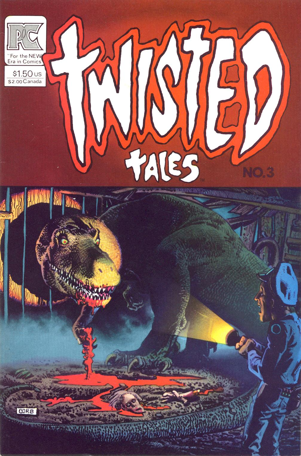 Read online Twisted Tales (1982) comic -  Issue #3 - 1