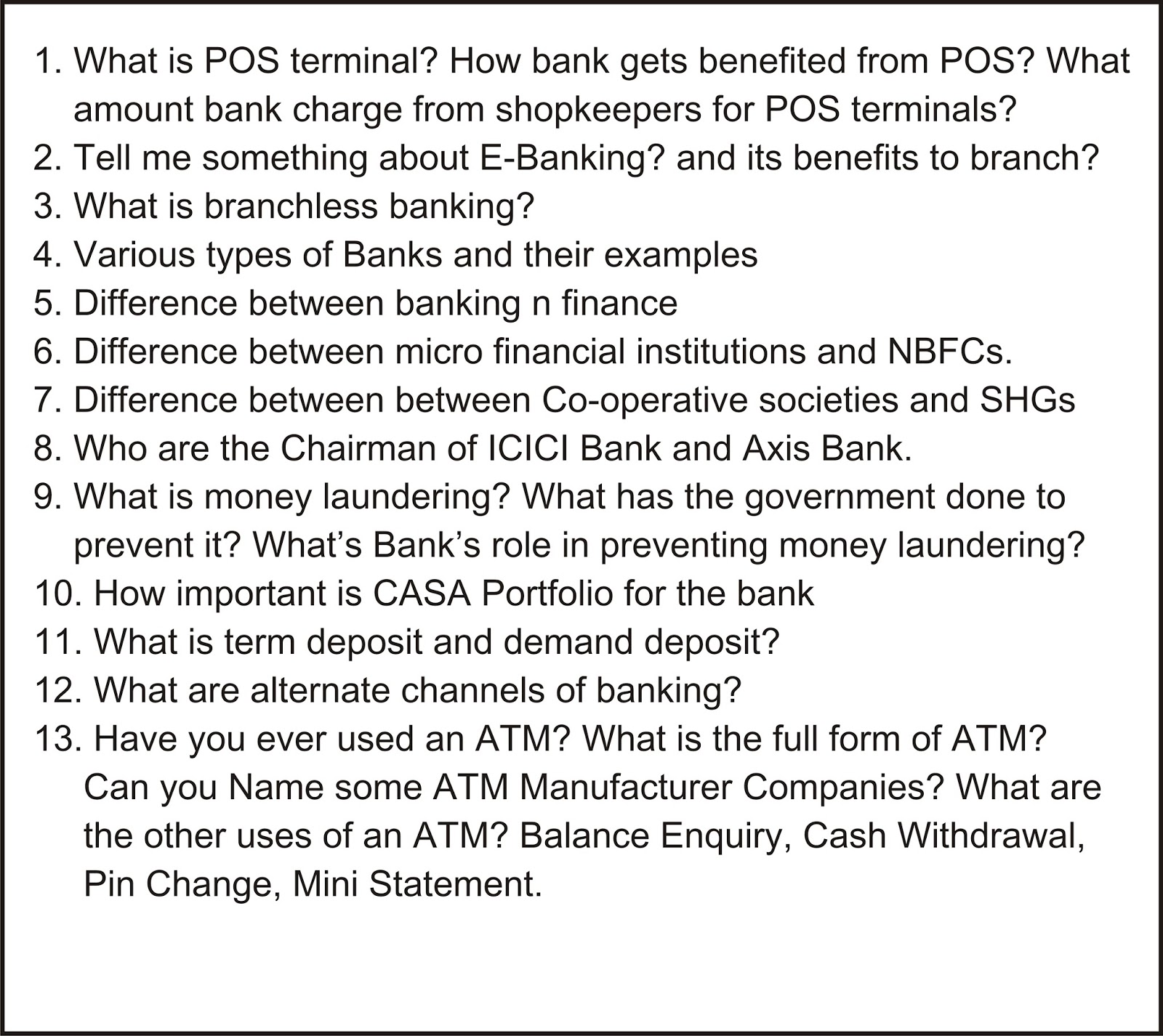 sbi bank questions answers sbi question sample papers general awareness easy to moderate