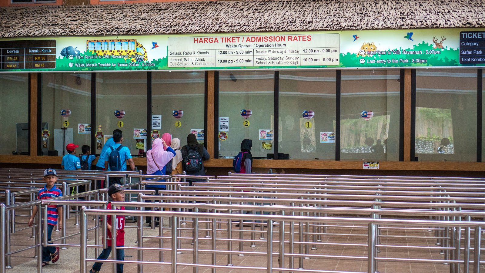Bukit Gambang Safari Park Singapore Et Ticket Night Dewasa Their Ticketing Counters Are Located At Different Locations The Water Counter Will Be Ground Floor While