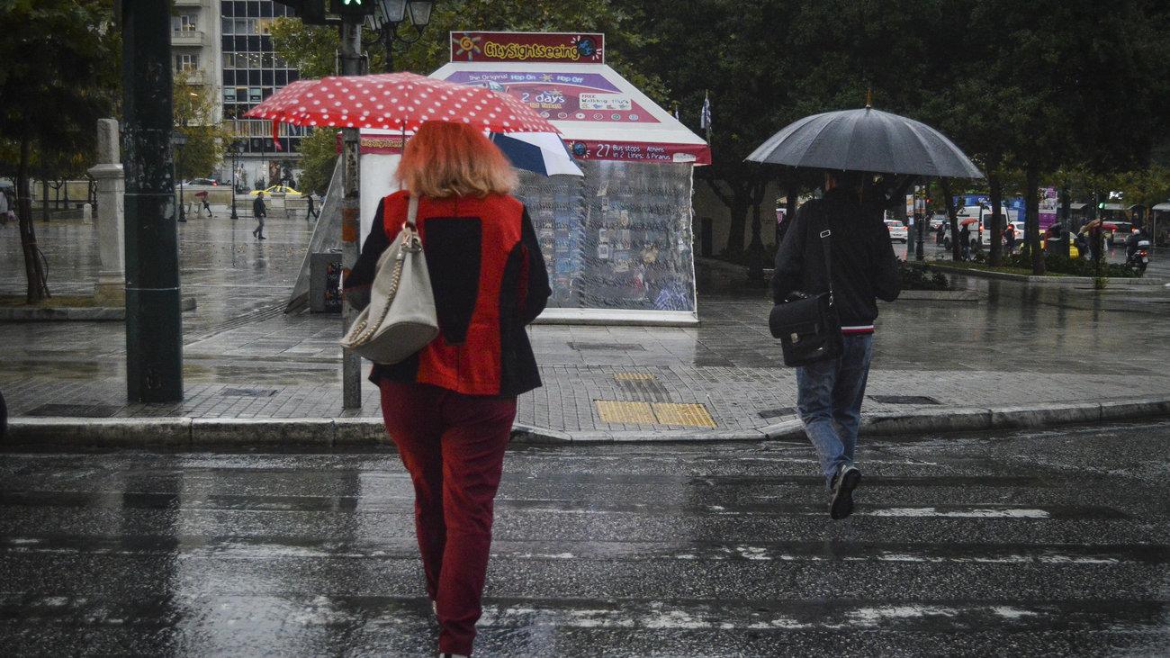 Βροχές, καταιγίδες, χαλάζι και πτώση της θερμοκρασίας