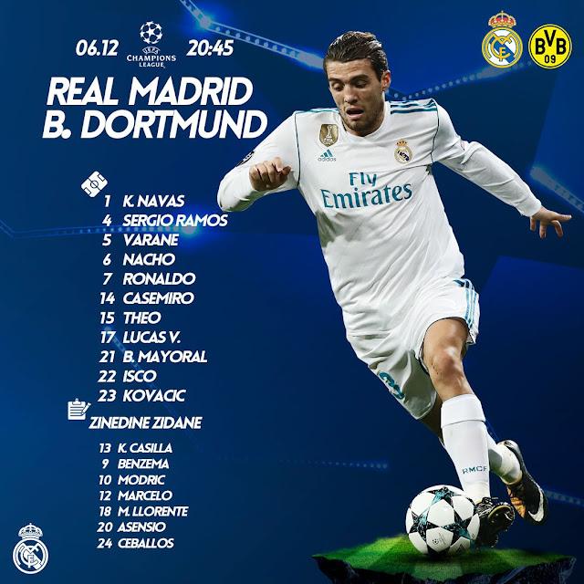 Real Madrid Vs Dortmund Live Stream