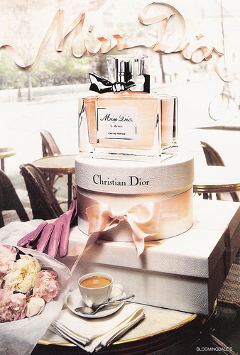 Miss Dior Birthday Cake