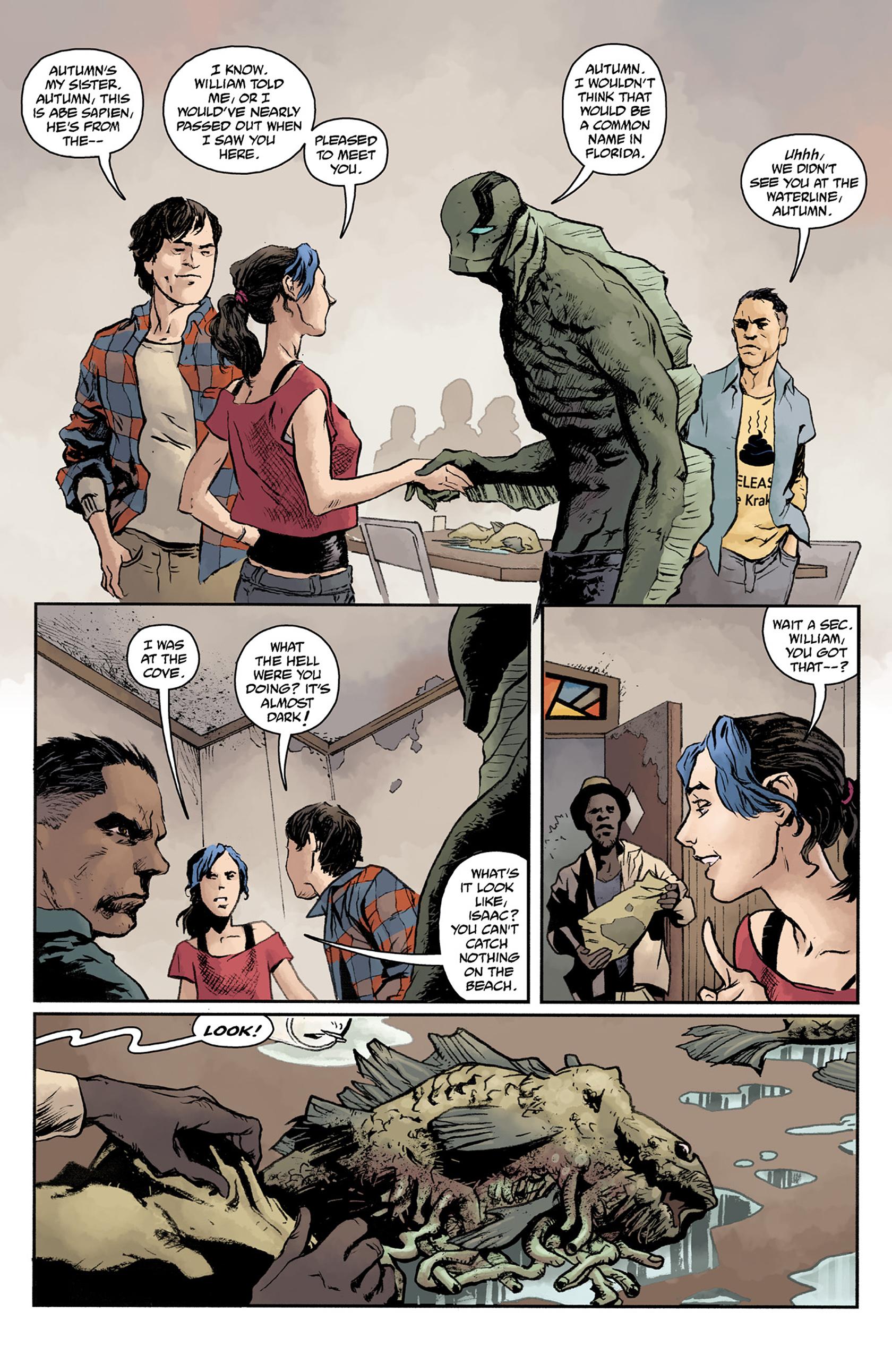 Read online Abe Sapien comic -  Issue #24 - 17
