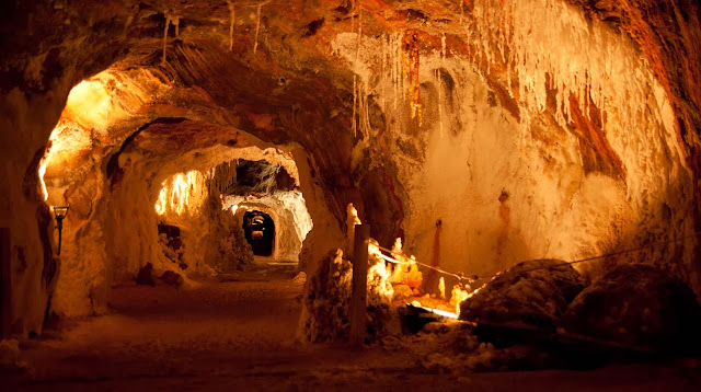 Túneles Mina de sal Cardona