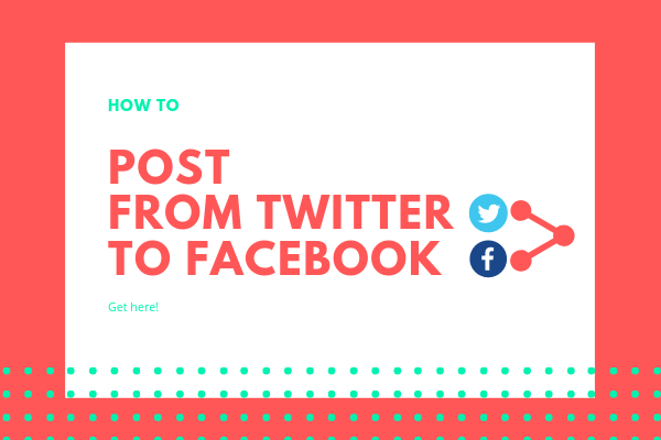 Make Twitter Post To Facebook<br/>