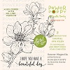 Power Poppy Saucer Magnolia