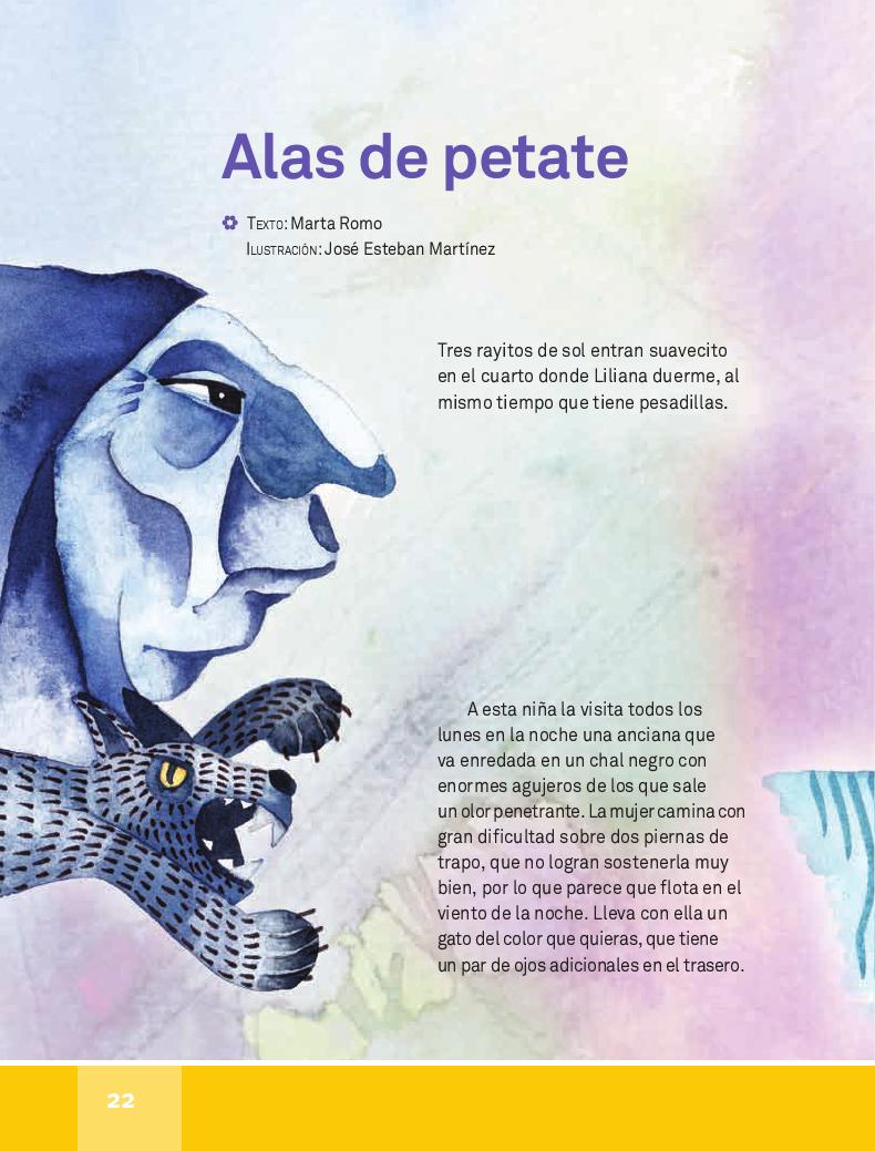 Alas de petate - Español Lecturas 4to ~ Apoyo Primaria