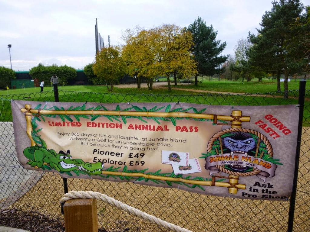The limited edition annual pass at Jungle Island Adventure Golf at Horton Park Golf Club in Epsom