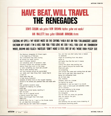 The Renegades - Take a Heart (1966)