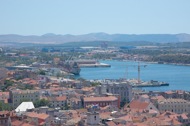 port Sibenik, jak wygląda? okolice, widok, panorama