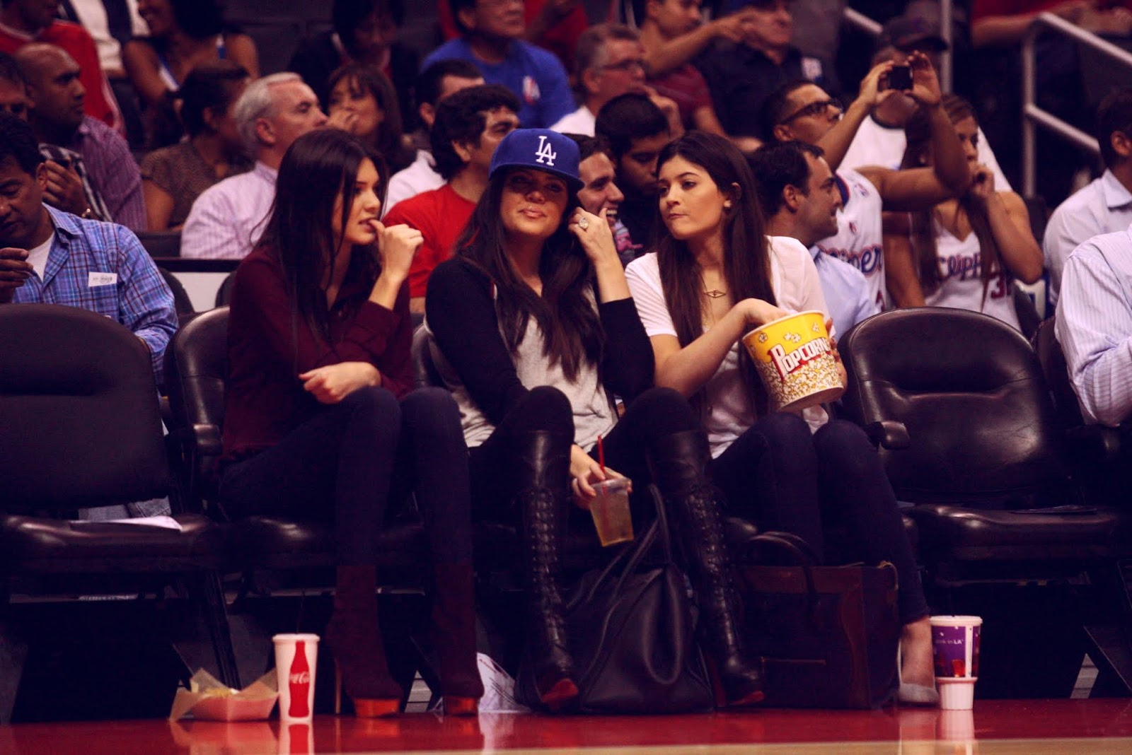 06 - Watching The Los Angeles Clippers Game on October 17, 2012