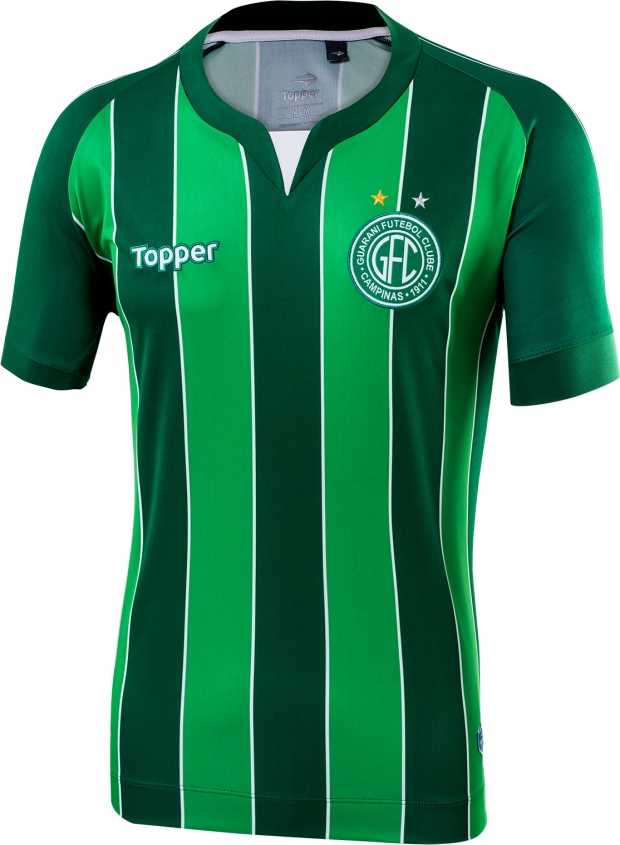 546594f74f Topper lança a nova terceira camisa do Guarani - Show de Camisas