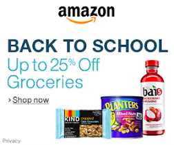 Back to School Grocery Deals on Amazon