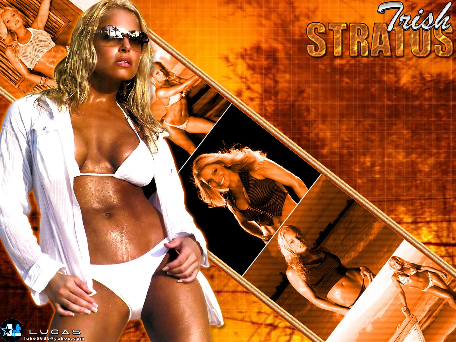 Wwe Trish Stratus Hd Wallpaper