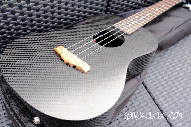 Klos Carbon Fibre Tenor Ukulele body