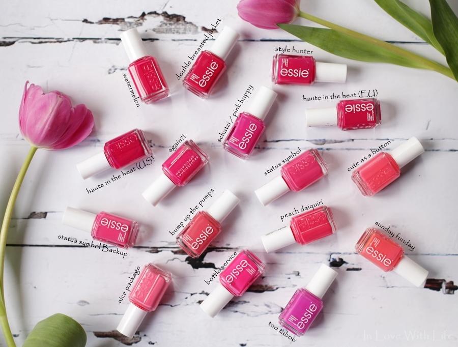 essie - pink koralle