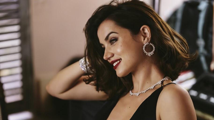 Ana de Armas, Beautiful, Smile, 4K, #6.889