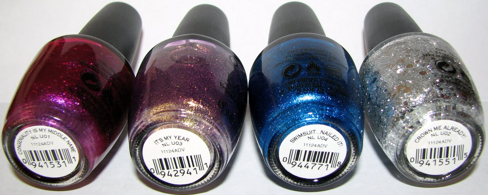 Opi Miss Universe Collection Nail Polish Swatches And Review Blushing Noir