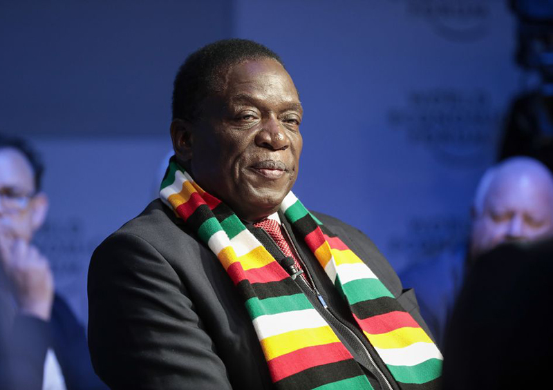 Mnangagwa Congratulates Chamisa