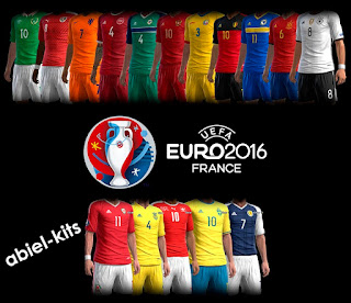 Kits Pack Euro 2016-2017 Pes 2013 By Abiel