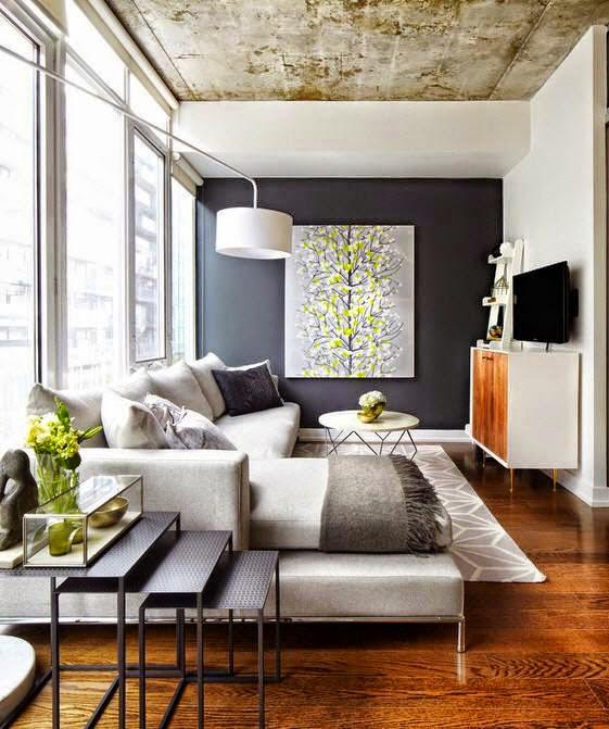 decoracion de salas pequeñas y modernas