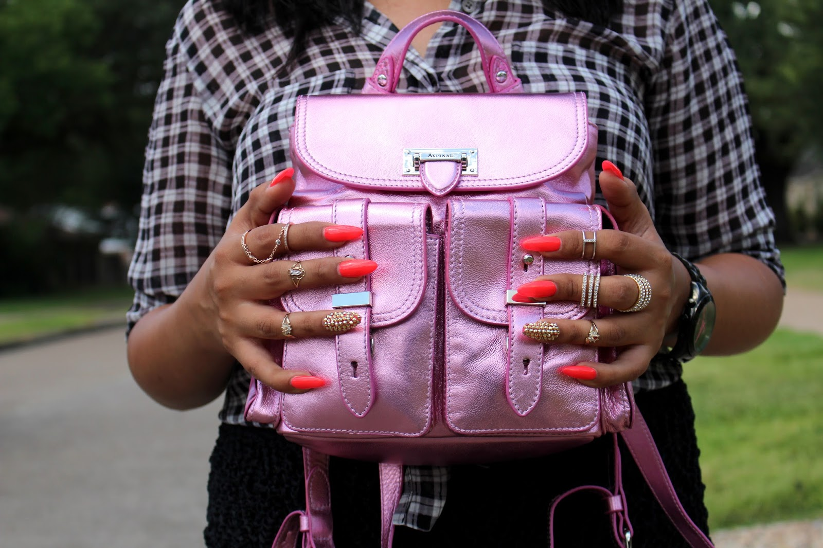 aspinal of london rucksack