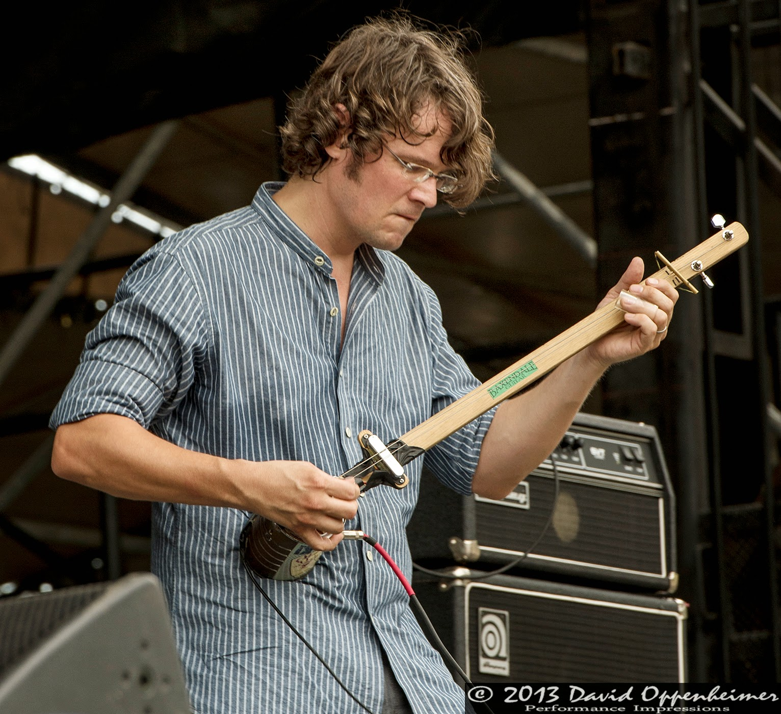 Luther Dickinson with the North Mississippi Allstars
