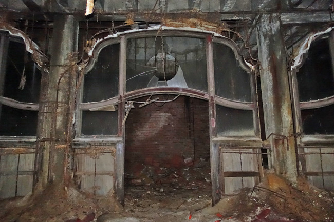 Palace Theater Abandoned in Gary, Indiana