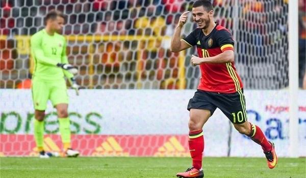 Eden Hazard Gelandang Serang Belgia