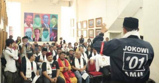 Alumni Gontor Dukung Jokowi-Ma'ruf, TKN: Gerakan Moderasi Islam Makin Kokoh