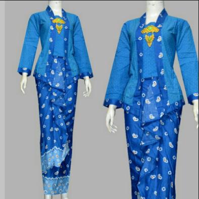 Model Baju Muslim Batik Rompi Blazer Terbaru