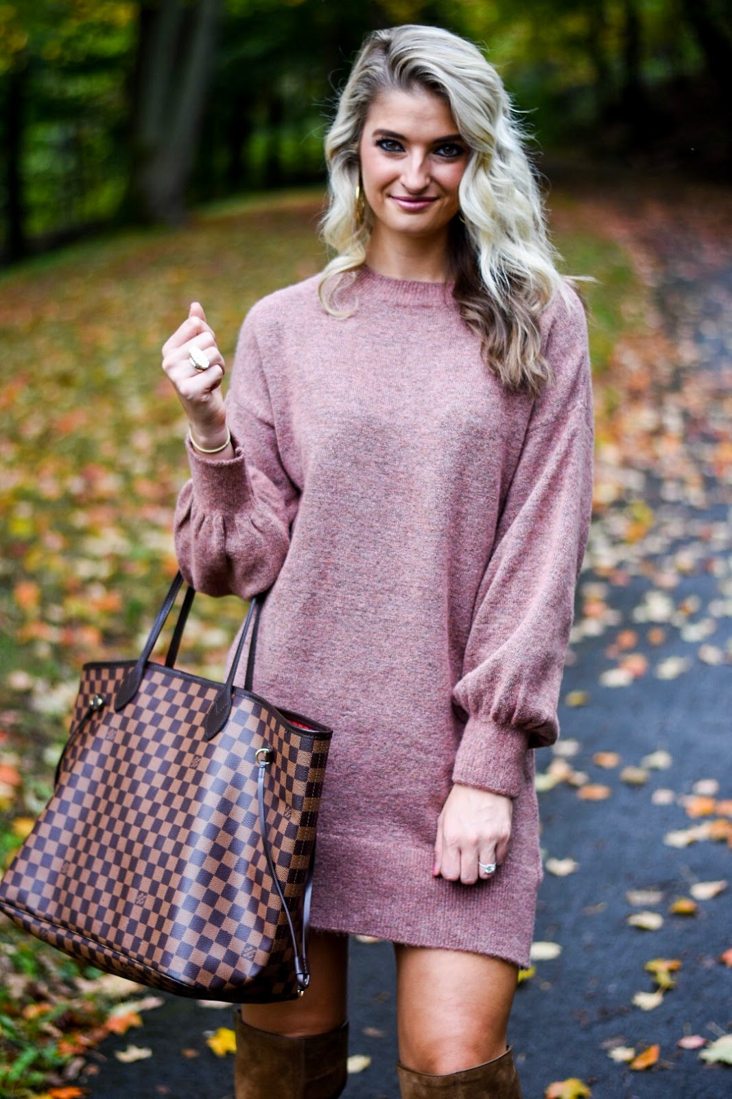 nice mauve sweater outfits 14