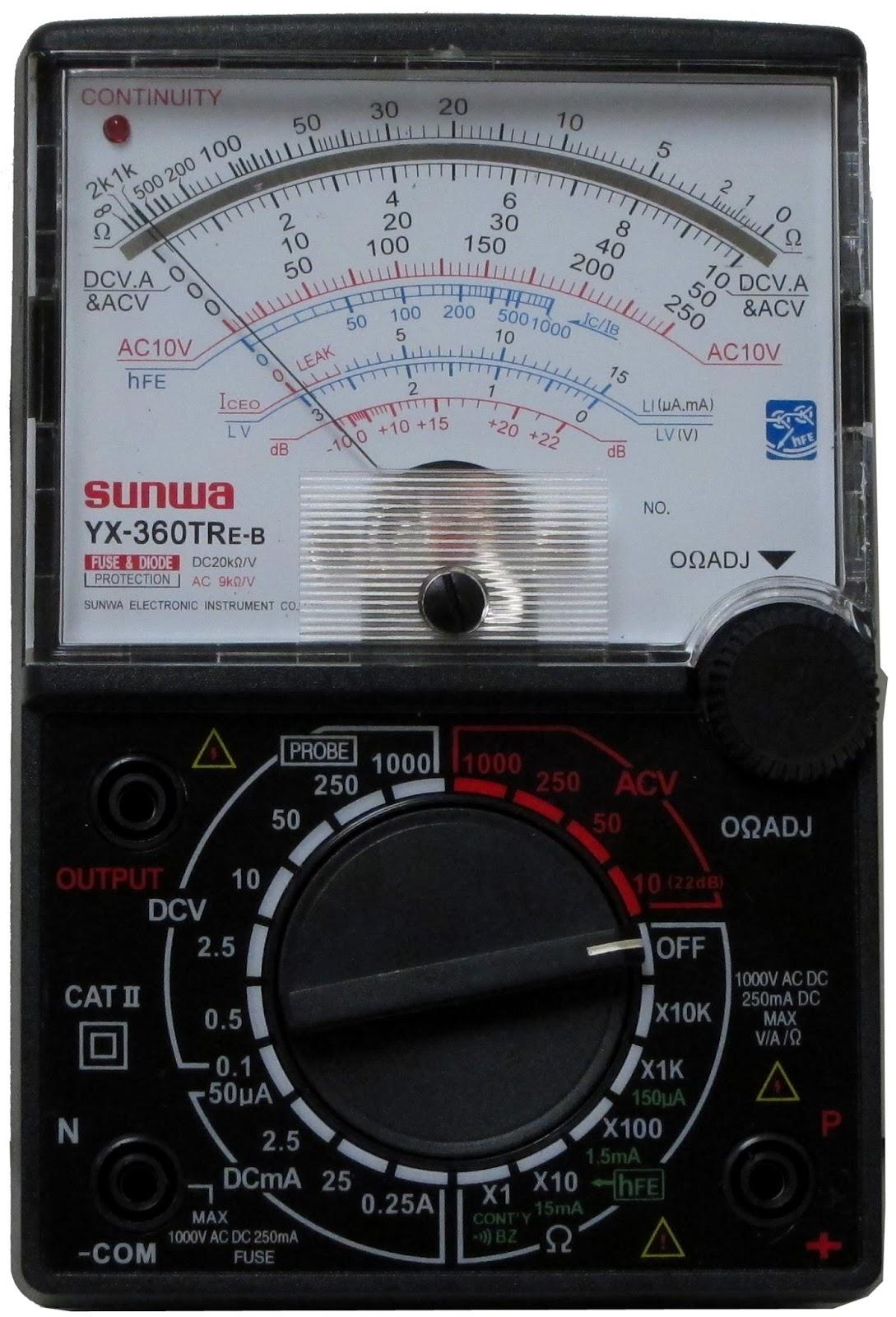 Alat Untuk Mengukur Tegangan Listrik : untuk, mengukur, tegangan, listrik, Ukur:, Multimeter, Tegangan, Tahanan, Listrik