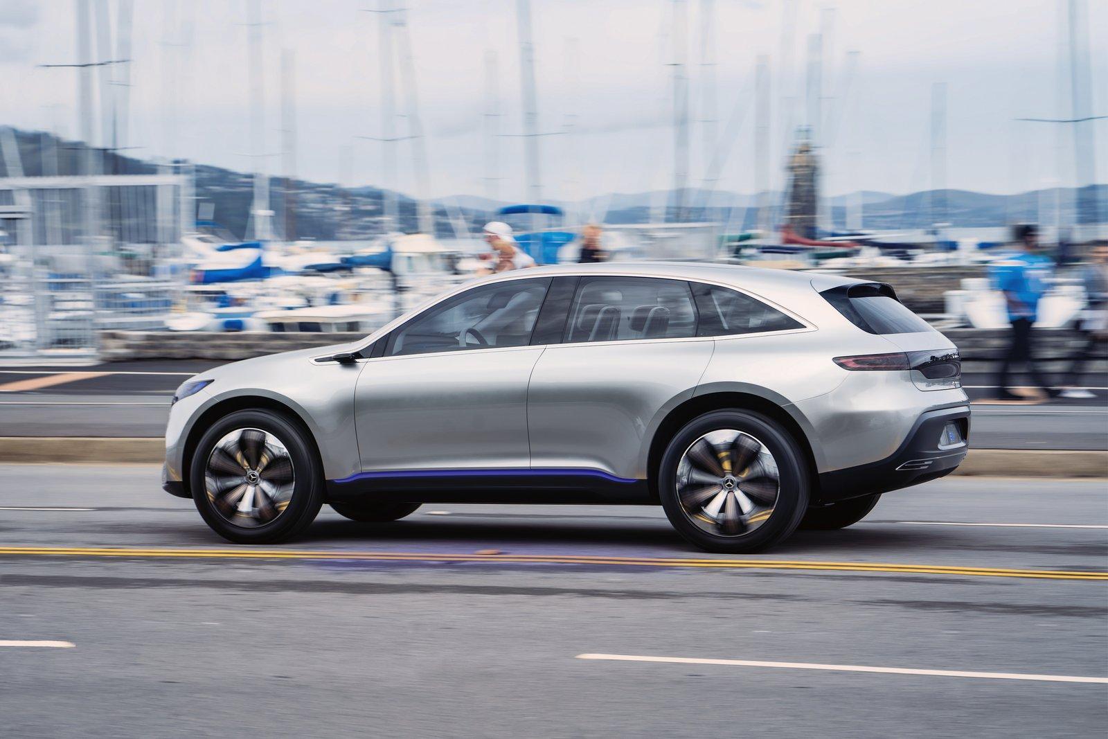 Mercedes Eq Hatchback Concept Slated For A Frankfurt Debut