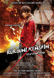 Download Film Rurouni Kenshin: Kyoto Inferno (2014) BluRay 720p Subtite Indonesia