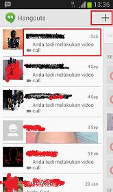 Cara Video Call Google Hangouts Di HP Android Gratis dan Lebih Murah