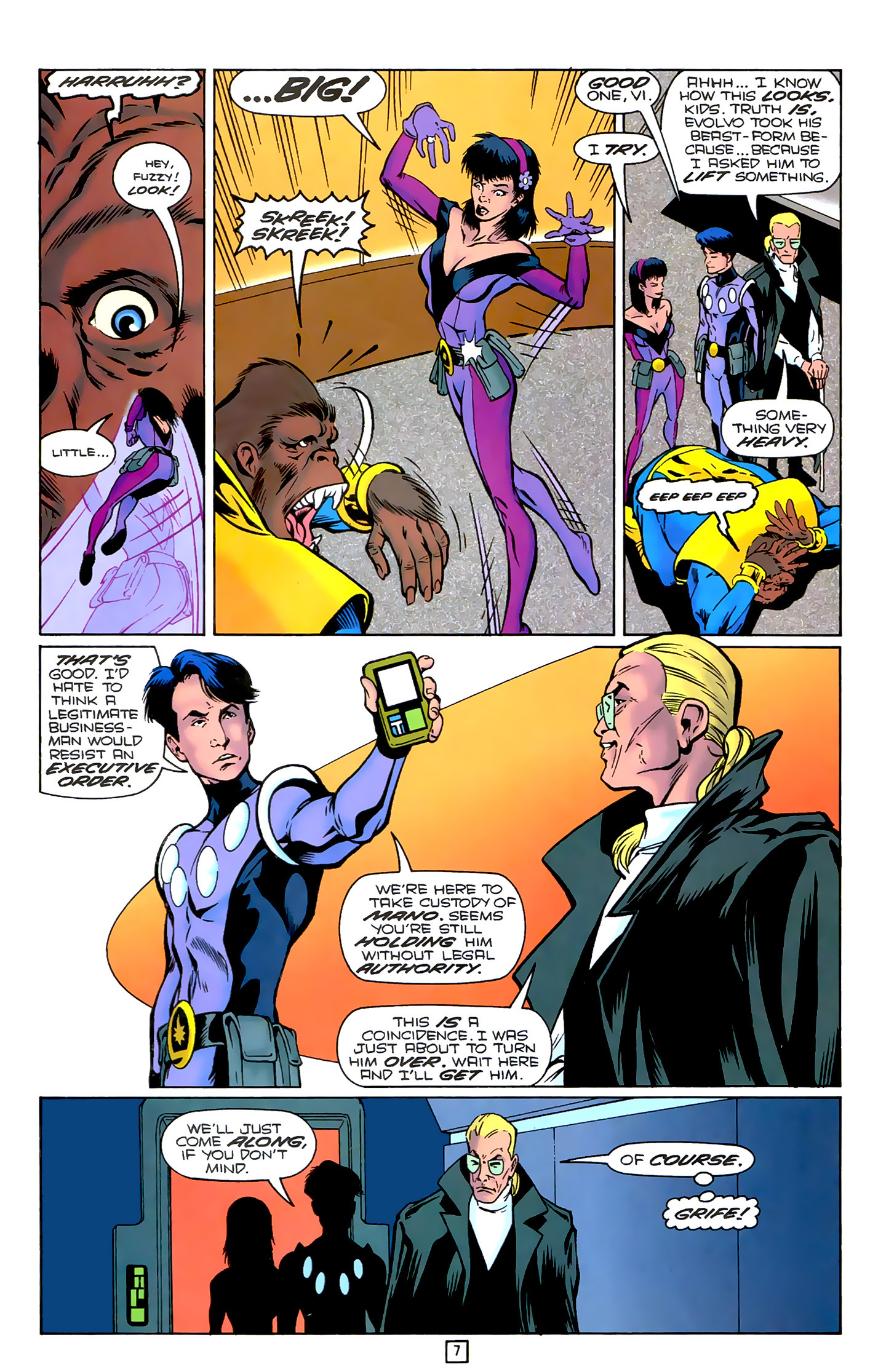 Legion of Super-Heroes (1989) 78 Page 7
