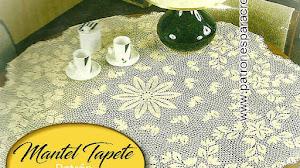Crochet para el hogar ~ Patrones de Mantel