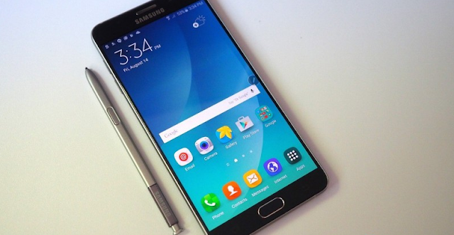 Model Terbaru dari Samsung Galaxy Note 6