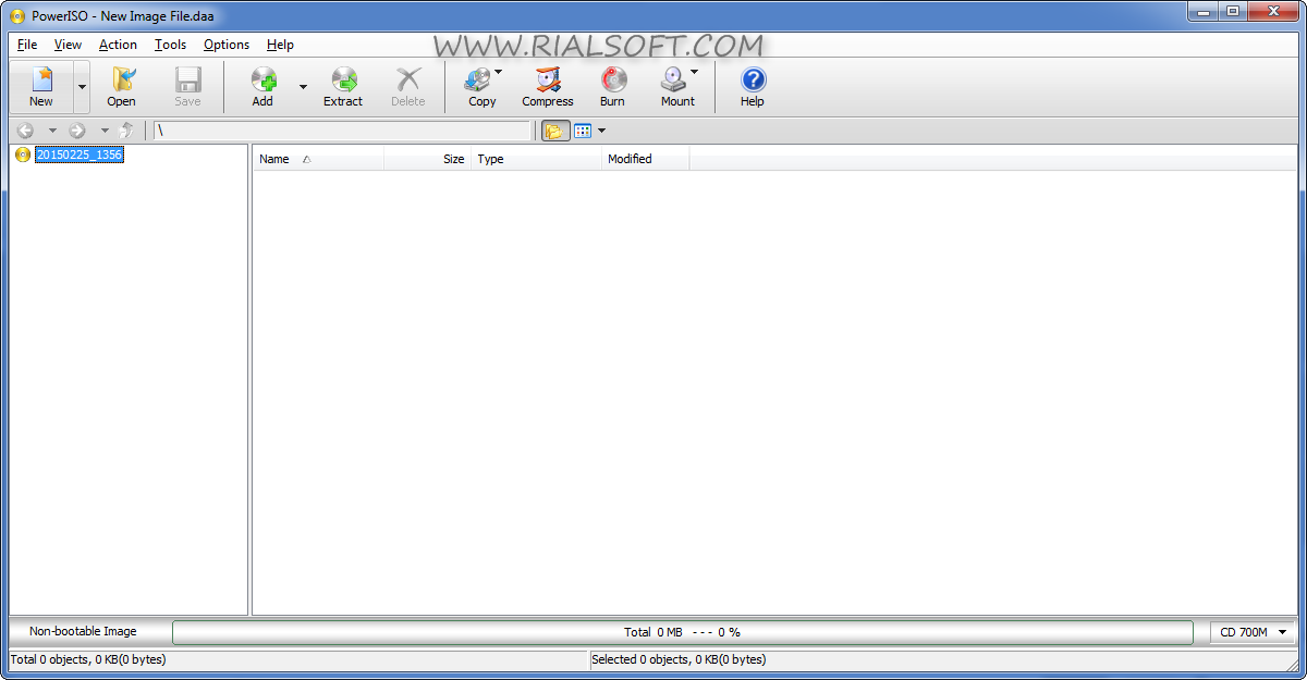 PowerISO 6.3 Final Terbaru Full Crack