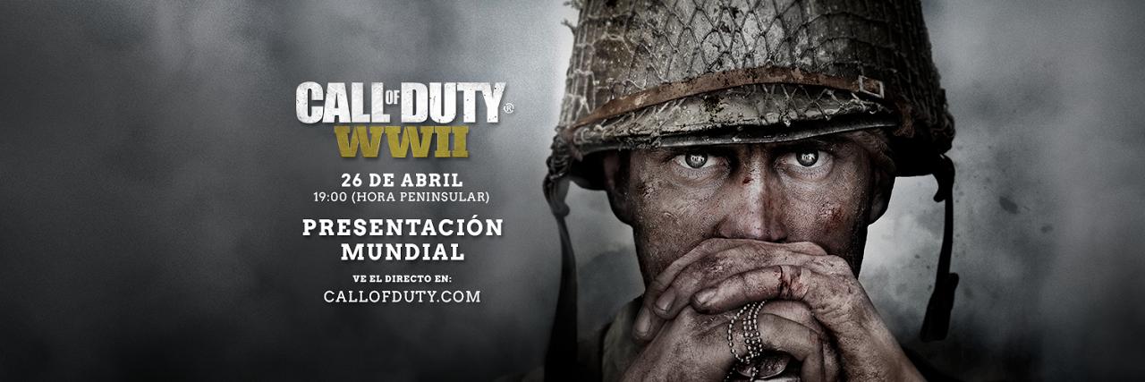 ¡Call of Duty WWII se confirma!, presentación mundial día 26 de abril