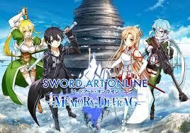 تحميل وتنزيل لعبة SWORD ART ONLINE:Memory Defrag 1.38.3 APK للاندرويد