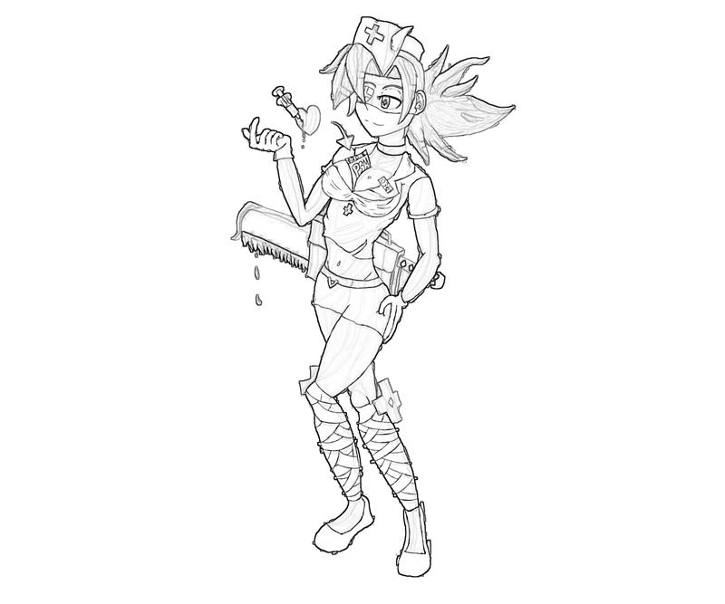 Skull girls characters coloring pages ~ Skullgirls Valentine Ability | Mario